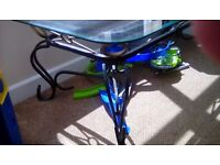 Glass top coffee table. Excellant condition