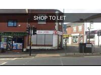 Shop To Let - Whalley Range Blackburn. (Opposite Kebabish) £125 week or £500 month
