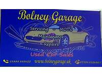 Bolney garage vehicle servicing, repairs and recovery