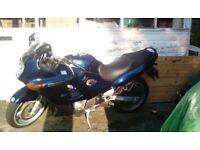 42e7102f68 Suzuki gsxf 750 v reg blue Bargain !