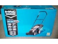 MACALLISTER 1300 WATT ELECTRIC ROTARY LAWN MOWER - NEW IN BOX