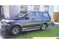 daewoo musso ssangyong 2.9 TD merc engine spares and repair o.i.r.o £700