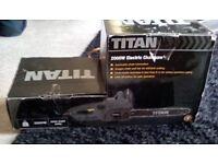 TITAN 2000 WATT ELECTRIC CHAINSAW - NEW IN BOX
