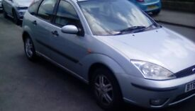 for sale Ford focus auto 2002 1.6 mot 8th january 2019 £450