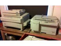 Panasonic & Olivetti copiers at £75 each