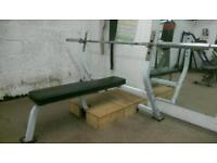 Olimpic Weights bench, Bar, Weights, Weights tree.