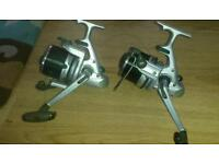 Pair of Mitchell 5000t reels good condition