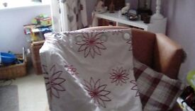 Dunelm fully lined eyelet curtains