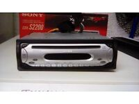 sony cdxs2200 cd player/stereo mp3 ,50watt x4 bristol area