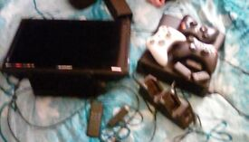Lcd tv 18 inch xbox 360 and amazon fire stick great for a kid starting out gaming