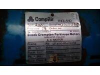 Compair compressor. No receiver