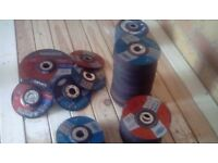 5 inch and 7 inch grinder discs