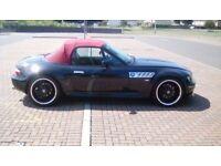 BMW Z3 2.8 Wide body Roadster Convertible not Z4, MX5