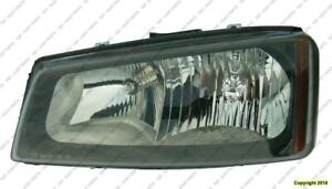 Head Light Driver Side Without Cladding High Quality Chevrolet Silverado 2003-2007