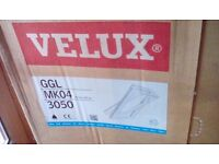 Velux window for flat roof. Window and casing 78cm x 98cm. £250