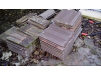 ROOFING TILES JOB LOT VARIOUS AS SHOWN APPROX 50-60