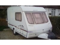 Swift Charisma 220 two berth caravan 2004 - With many extras included