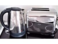 Breville Chrome Toaster and Kettle