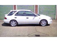 Subaru impreza 2000 turbo 1996 white