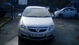 Vauxhall 1.0 Corsa ..Econpmical small engine reliable car.Long Mot.Petrol