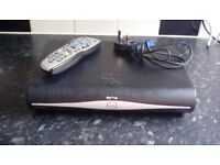 Sky+HD Box. With remote control and power lead