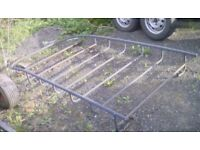 Renault Kangoo full length roof rack, with fittings *sorry about photo*