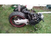 Selling 125cc 4 stroke tgb 2012 scooter engine