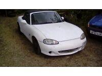 2002 Mazda Mx5 1840vvt No Mot GOOD RUNNER PROJECT DRIFTING ETC