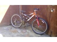 gents full suspenison cycles