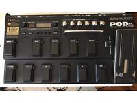 Line 6 POD XT LIVE Multi FX pedalboard