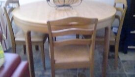 Nathan table andchairs
