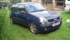 RENAULT CLIO 2003 DIESEL £30 ROAD TAX