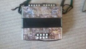Hohner Double Ray Black Dot Melodian