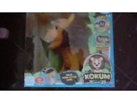 Brand new KOKUM pet lion by club pets unwanted gift