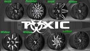 FLASH SALE !!!! Toxic Off-Road Wheels..AFFORDABLE LUXURY...GET TOXIC XXXXX !!!!!!