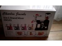 Brand new, Charles Jacobs food mixer, cream