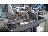 Myford ML7 Lathe with cabinet
