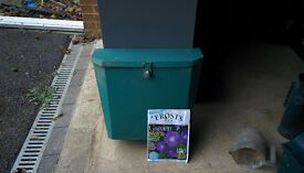 Large outdoor lockable parcel/ large letter box