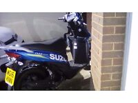Suzuki Address 110 moto GP 16 Plate 750 miles