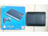 PS3 SuperSlim 12GB Boxed & HDMI Cable PlayStation & FIFA 15