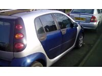 Smart forfour 2006 quick sale or px