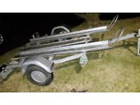 Trelgo motorbike trailer, takes 2 bikes, hardly used, excellent condition