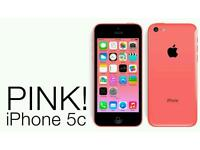 Iphone 5c pink EE network