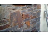 Decorative wall stones