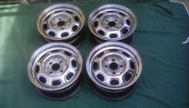 Vw steel wheels, polished vw vw 13,inch