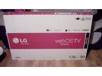 BRAND NEW STILL SEALED - LG 50LF652V 50 Inch 3D Smart WebOS WiFi Built In Full HD 1080p LED Tv