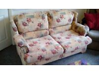 Bed settee ,newly cleaned fold out double bed