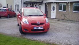 5door toyota yaris in stunning condition 17000miles only .superb mechanicly good inside