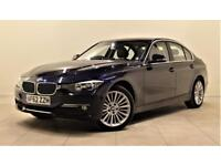 BMW 3 SERIES 2.0 320D LUXURY 4d AUTO 184 BHP 1 PREVIOUS OWNER F (blue) 2012