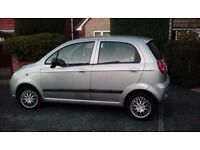 CHEVROLET MATIZ SE+ 5 DOOR HATCHBACK SILVER